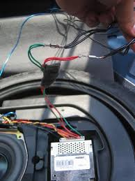diy how to install an aftermarket sub and amp to the stock bose Bose Spare Tire Subwoofer Wiring Diagram Bose Spare Tire Subwoofer Wiring Diagram #18 Bose AM 5 Subwoofer