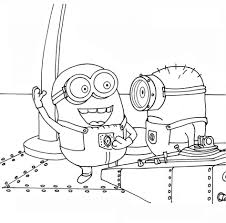 Small Picture Coloring Pages Minion Coloring Pages Best Coloring Pages For Kids