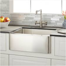 27 inch stainless steel farmhouse sink get minimalist impression elysee