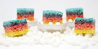 Rice Crispy Treats Designs Rainbow Rice Krispies Treats Jessie K Design