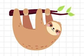 Weekly free svg cut file diy craft inspirations & videos click this link for more. Cute Cartoon Sloth On A Branch Svg Png Eps Ai 654056 Illustrations Design Bundles