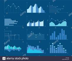 Business Charts And Graphs Set Of Different Graphs And Charts Information On Charts