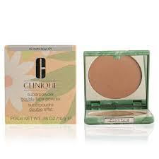 clinique super powder double face powder 07 matte neutral 10 g amazon co uk beauty