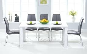 gloss dining table sets great furniture trading company throughout white ideas kitchen washed small
