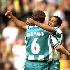 27' — желтая карточка — верхоэк джон. Werder Bremen Wita 19 Mai 2001 Trotz 3 0 Sieg Gegen Hansa Rostock Werder Verpasst Europa Wistorie Wita