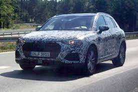 audi q 3 2018. modren 2018 2018 audi q3 spy shot front quarter for audi q 3