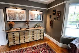 New Living Room New Living Room Restoration Hardware Slate Gray Paint Africa Art