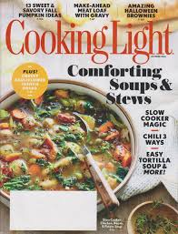 Cooking Light Healthy Cooking Light October 2016 Comforting Soups Stews Amazon