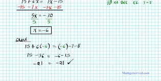 solving multi step equations college algebra practice worksheet kuta full size