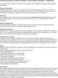Physical Education Teacher Cover Letter Cover Letter Sample Email