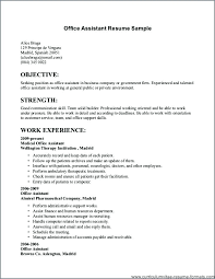 Sample Resume For Employment. Sample Entry Level Marketing Resume ...