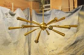 how to make a microphone sputnik chandelier