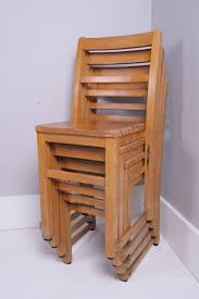 image of kids stackable chairs wood