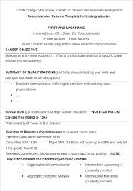 College Administration Sample Resume Classy Examples Of Resumes For College College Student Resume Templates