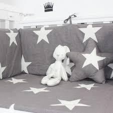 3pcs sets classic gray star star pattern cotton baby bedding set crib children s favorite comfort baby