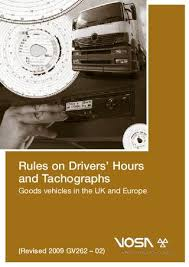 One Tachograph Chart Covers A Period Of Rules On Drivers Hours And Tachographs Goods Vehcles In