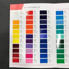Oracal 651 Color Chart Oracal 651 Color Chart