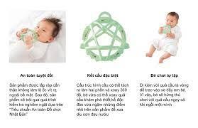 TOP 10 gặm nướu Nhật Bản dành cho trẻ sơ sinh từng tháng tuổi | Phát Triển  Kỹ Năng Cho Trẻ Em thông qua Đồ Chơi