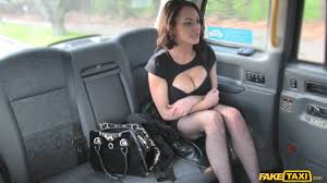 Busty Escort Trades Services For Free Ride Fake Taxi XXX