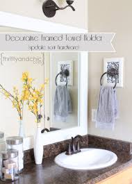 decorative hand towels for bathroom.  bathroom decorative framed towel holder for hand towels bathroom