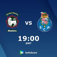 Marítimo FC Porto Live Ticker und Live Stream - SofaScore