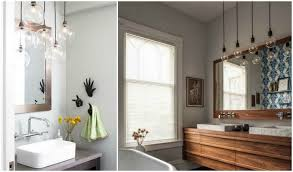 pendant lighting for bathrooms. 3 clean bathroom with the right suspension light pendant lighting for bathrooms