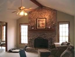 decoration brick fireplace mantel red ideas decorating surround