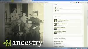 Ancestry Com Online Family Trees Photo Comments And Other