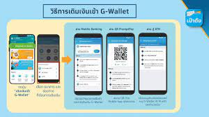 Krungthai Care - วิธีการเติมเงินเข้า G-Wallet