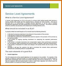 6-7 Sample Service Agreement | Genericresume