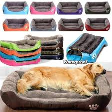 (<b>S 3XL</b>) <b>Large Pet</b> Cat <b>Dog</b> Bed 8Colors Warm Cozy <b>Dog</b> House Soft ...