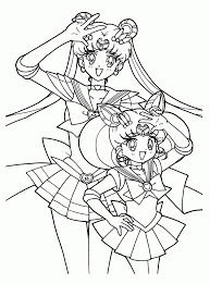 Small Picture Sailor Moon Coloring Pages Free Coloring Coloring Pages
