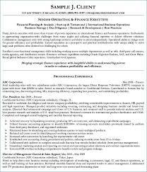 Sample Senior Executive Resume | Publicassets.us