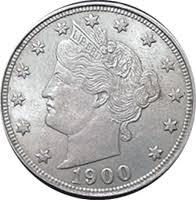 1900 Liberty Head V Nickel Value Cointrackers