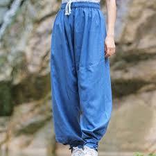 Топ Качественный хлопок лен спортивные брюки для Для ...