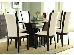 round glass dining table wood base rectangular glass top dining table with wood base target dining