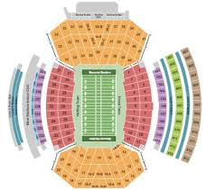 Seating Chart For Memorial Stadium Lincoln Nebraska Memorial Stadium Tickets And Memorial Stadium Seating Chart
