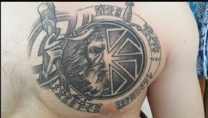татуировки на руке мужские славянские славянские татуировки обереги
