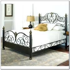 wrought iron king bed. Wrought Iron Bedroom Set Appealing Rot Bed On Pertaining To White Design King R