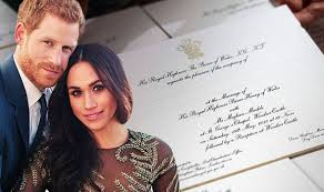 You're invited to the royal wedding! Meghan Markle And Prince Harry Send Out Invites To Royal Wedding Royal News Express Co Uk