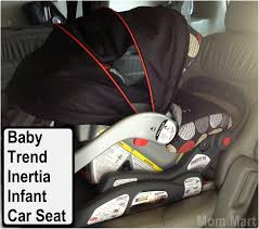 baby trend inertia infant car seat review