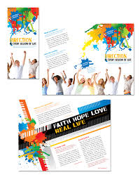 youth group flyer template free youth brochure template proppers info