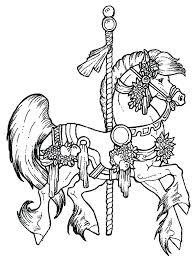Horses Color Pages Predragterziccom