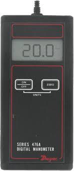 digital manometer. dwyer 476a digital manometer
