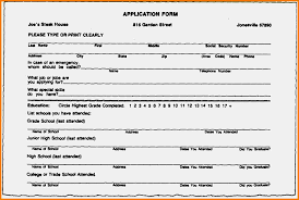 100 Free Blank Resume Forms Search Employee Resume Resume