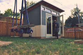 tiny backyard home office. Plain Backyard Beautiful Inspiration Prefab Shed Office 5 Studio On Tiny Home For Backyard