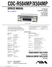 aiwa cdc r504mp manuals aiwa cdc r504mp service manual