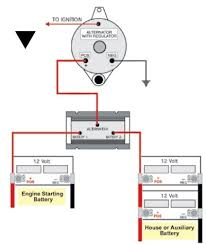 marine dual battery isolator wiring diagram wiring diagram wiring help for single dual battery setup here s the very simple schematic