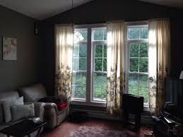 Target Living Room Curtains Target Threshold Climbing Vine Curtains Gives My Room A Summery