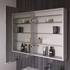 450 x 600 mm illuminated led bathroom mirror cabinet with shaver socket mc134 ibathuk amazon co uk kitchen home
